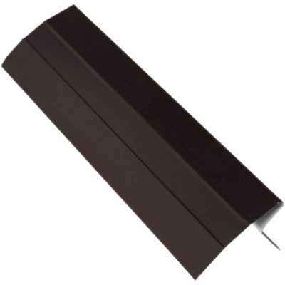 NorWesco D Galvanized Steel Roof & Drip Edge Flashing, Brown