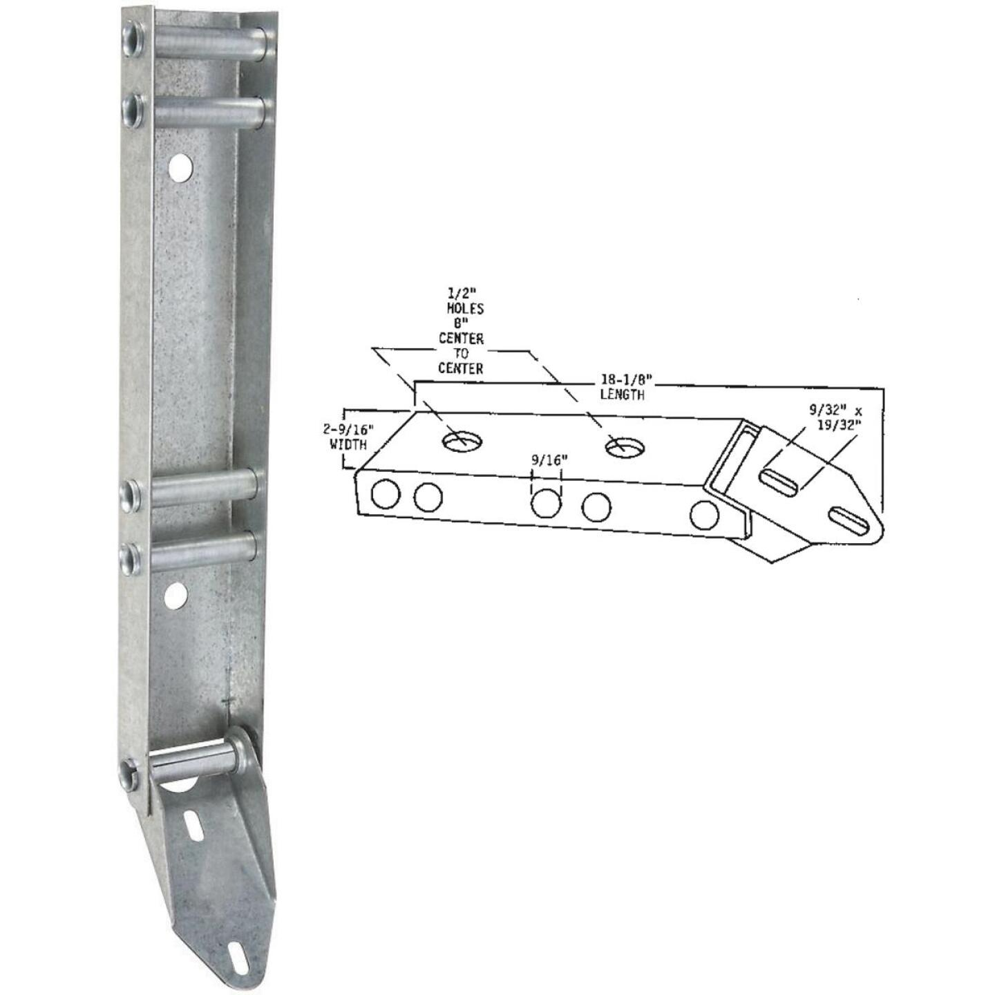 National Garage Door Low Head Clearance Quick Turn Bracket Image 1