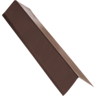 NorWesco A 3 In. X 5 In. Galvanized Steel Roof & Drip Edge Flashing, Brown Image 1