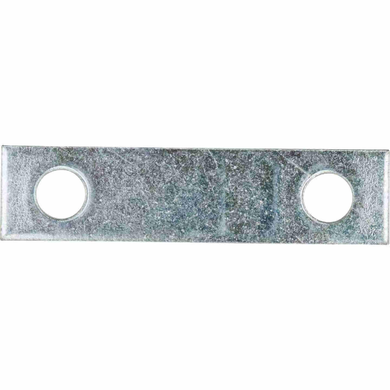 National Catalog 118 2 In. x 1/2 In. Zinc Steel Mending Brace Image 1