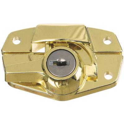 National Brass Finished Die-Cast Sash Lock