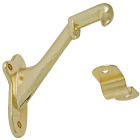 Ultra Hardware Polished Brass Standard Handrail Bracket Image 1