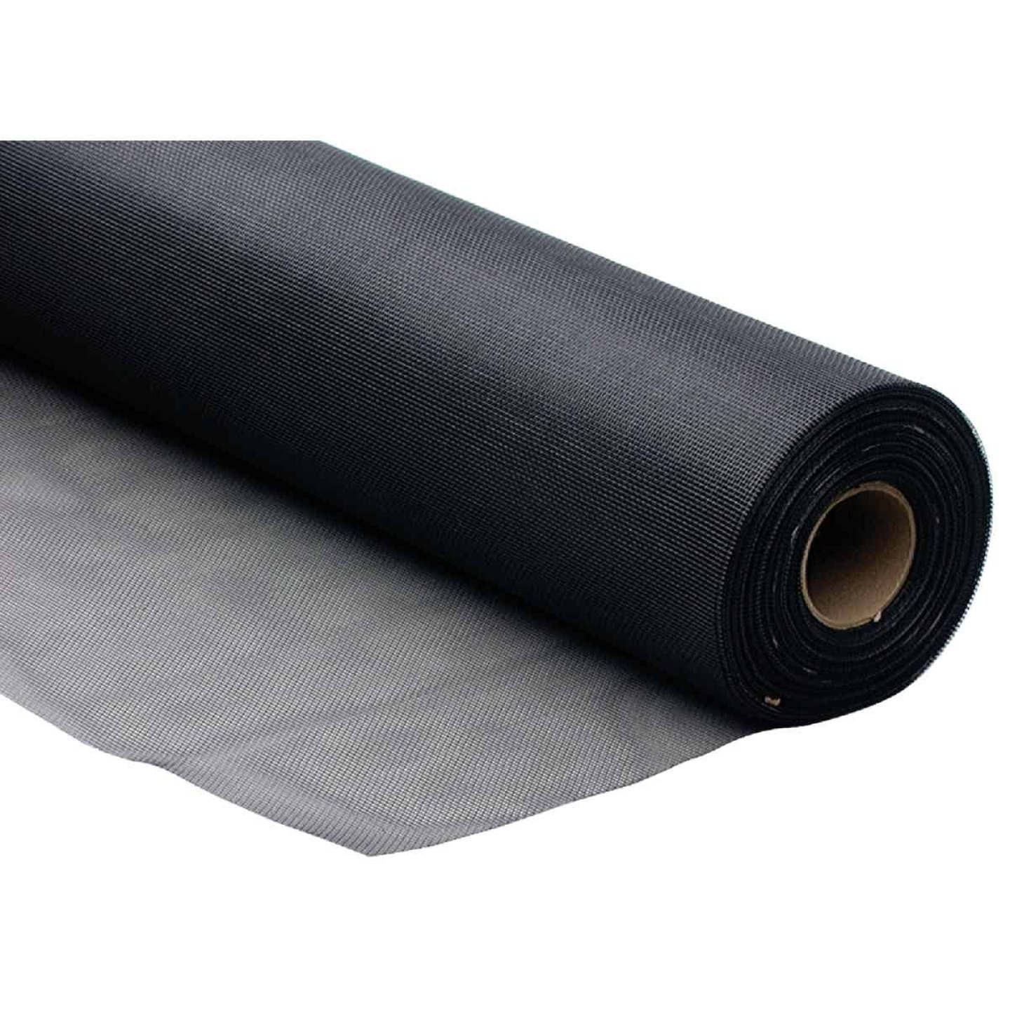 Phifer 30 In. x 100 Ft. Charcoal Fiberglass Mesh Screen Cloth Image 3
