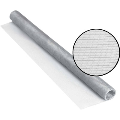 Phifer 30 In. x 84 In. Brite Aluminum Screen Ready Rolls