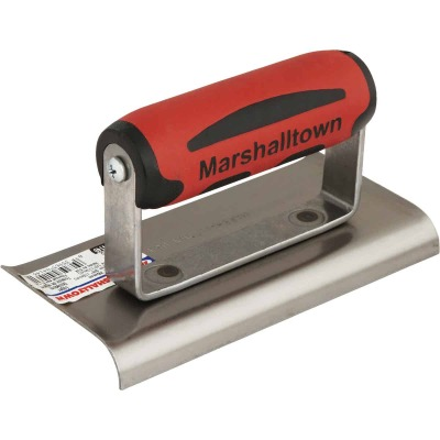 Marshalltown 6 In. x 3 In. Curved End Cement Edger