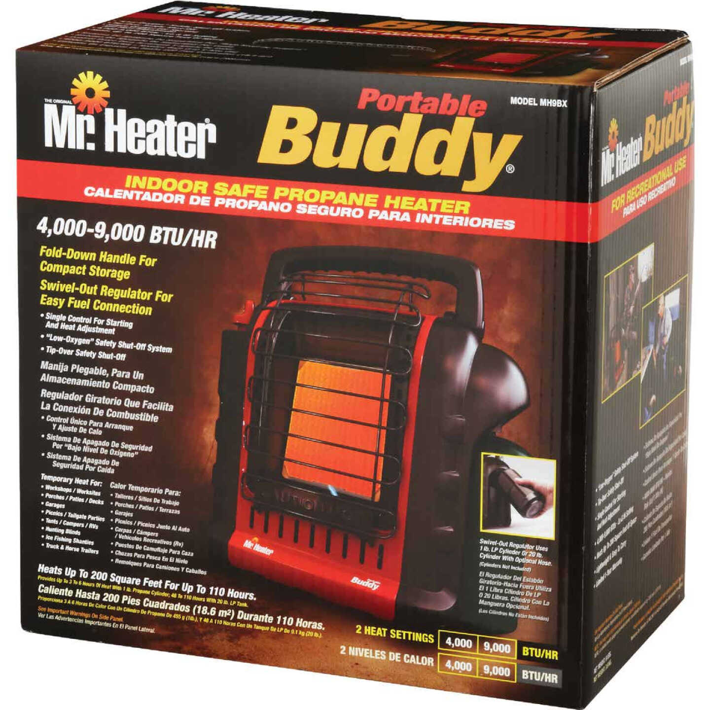 MR. HEATER 9000 BTU Radiant Portable Buddy Propane Heater Image 5