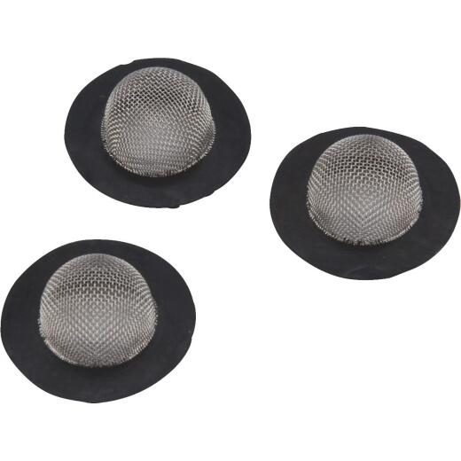 Camco Stainless Steel Mesh 1 In. RV Washer with Filter, (3-Pack)