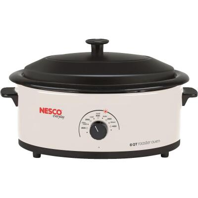 Nesco 6 Qt. Ivory Electric Roaster