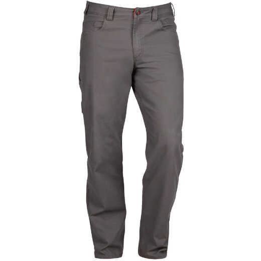 Milwaukee Flex Gray 32 x 32 Heavy-Duty Work Pants