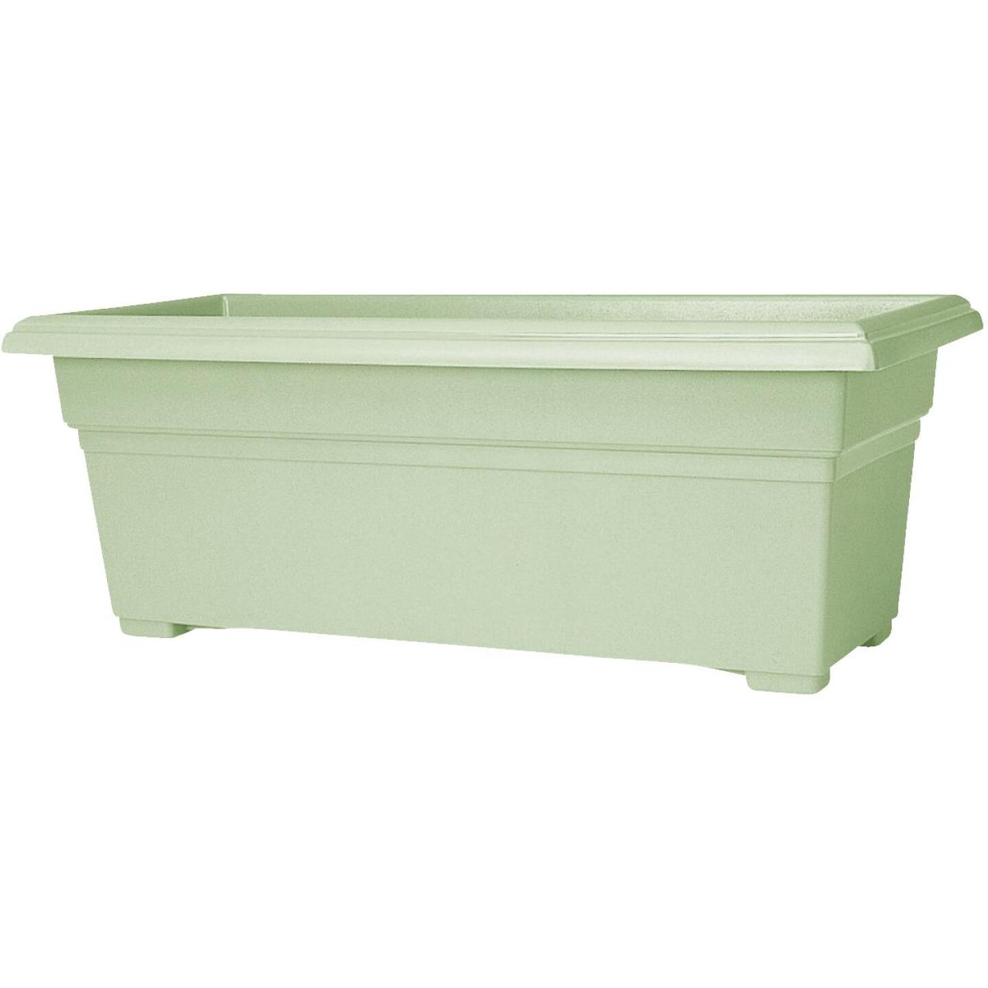 Novelty Countryside 30 In. Plastic Sage Flower Box Planter Image 1